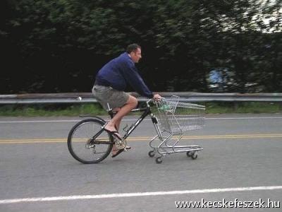 bevásárló bicó:D